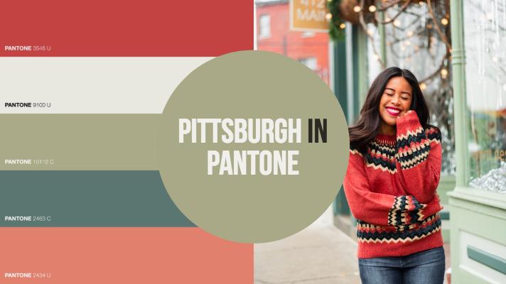 Pittsburgh in Pantone