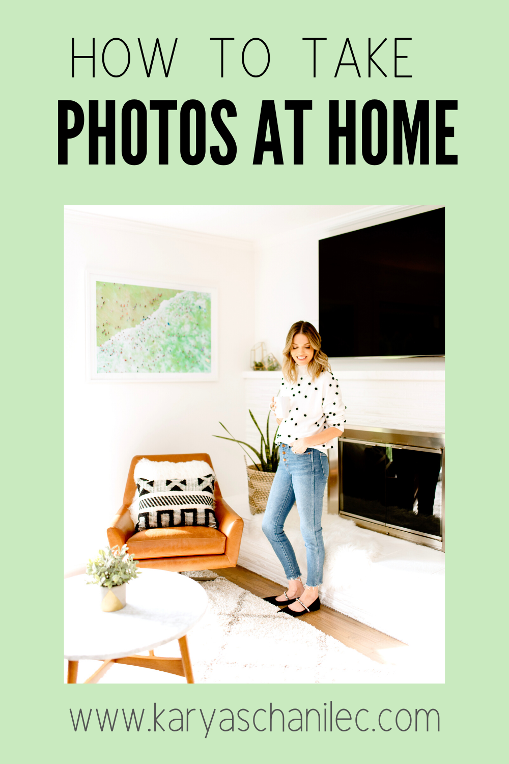 How to Take Better Photos Indoors: 4 Tips For At Home Photoshoots