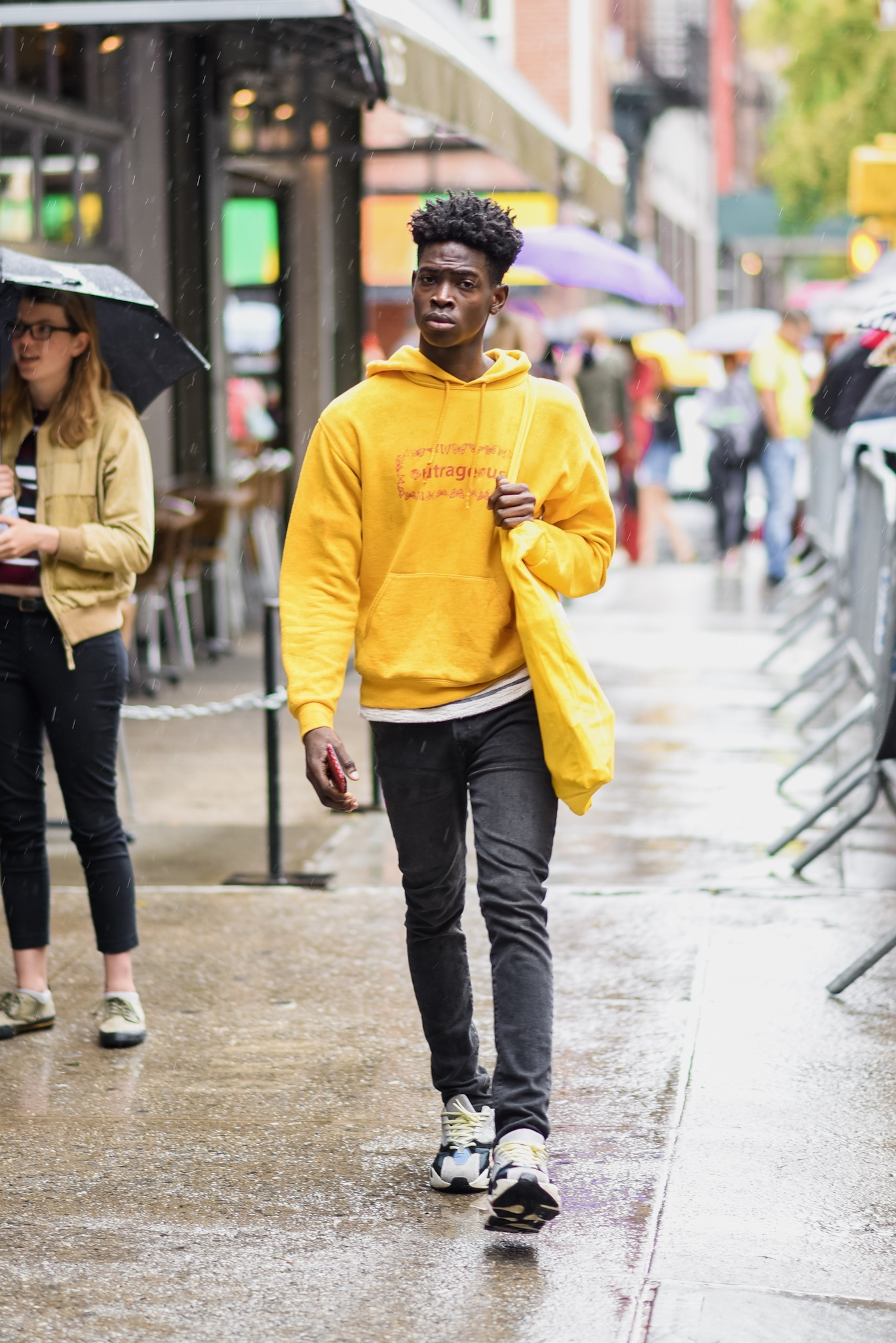 How to Get Spotted at New York Fashion Week