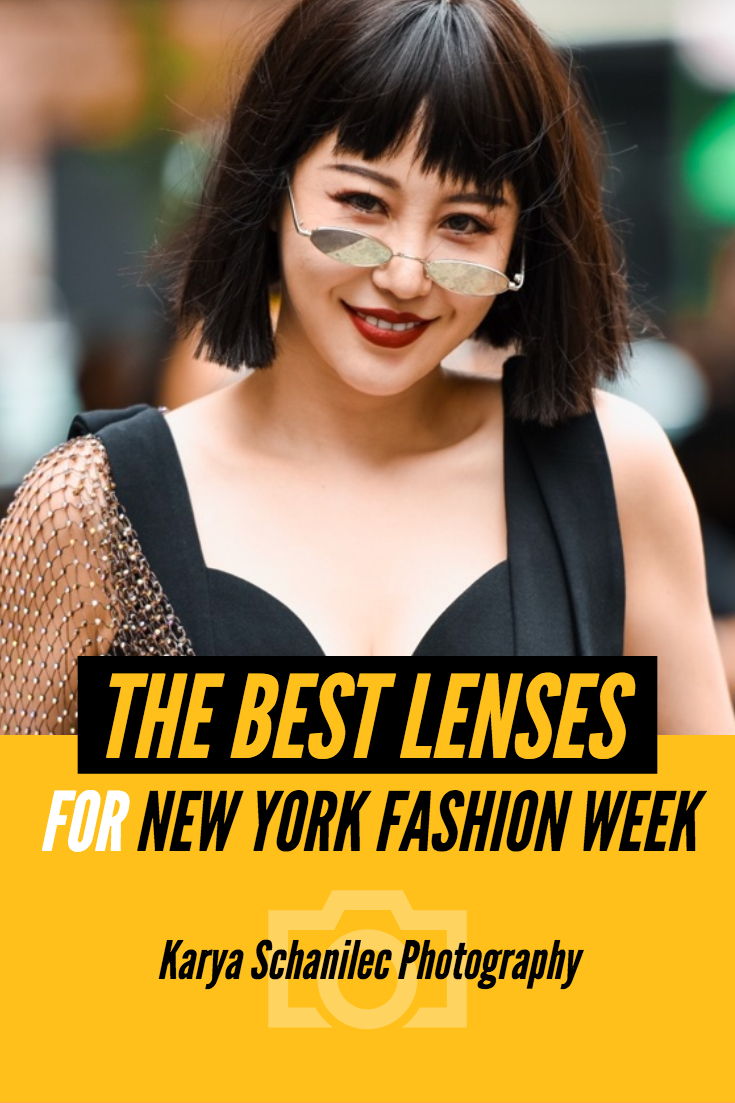 The Best Lenses for NYFW