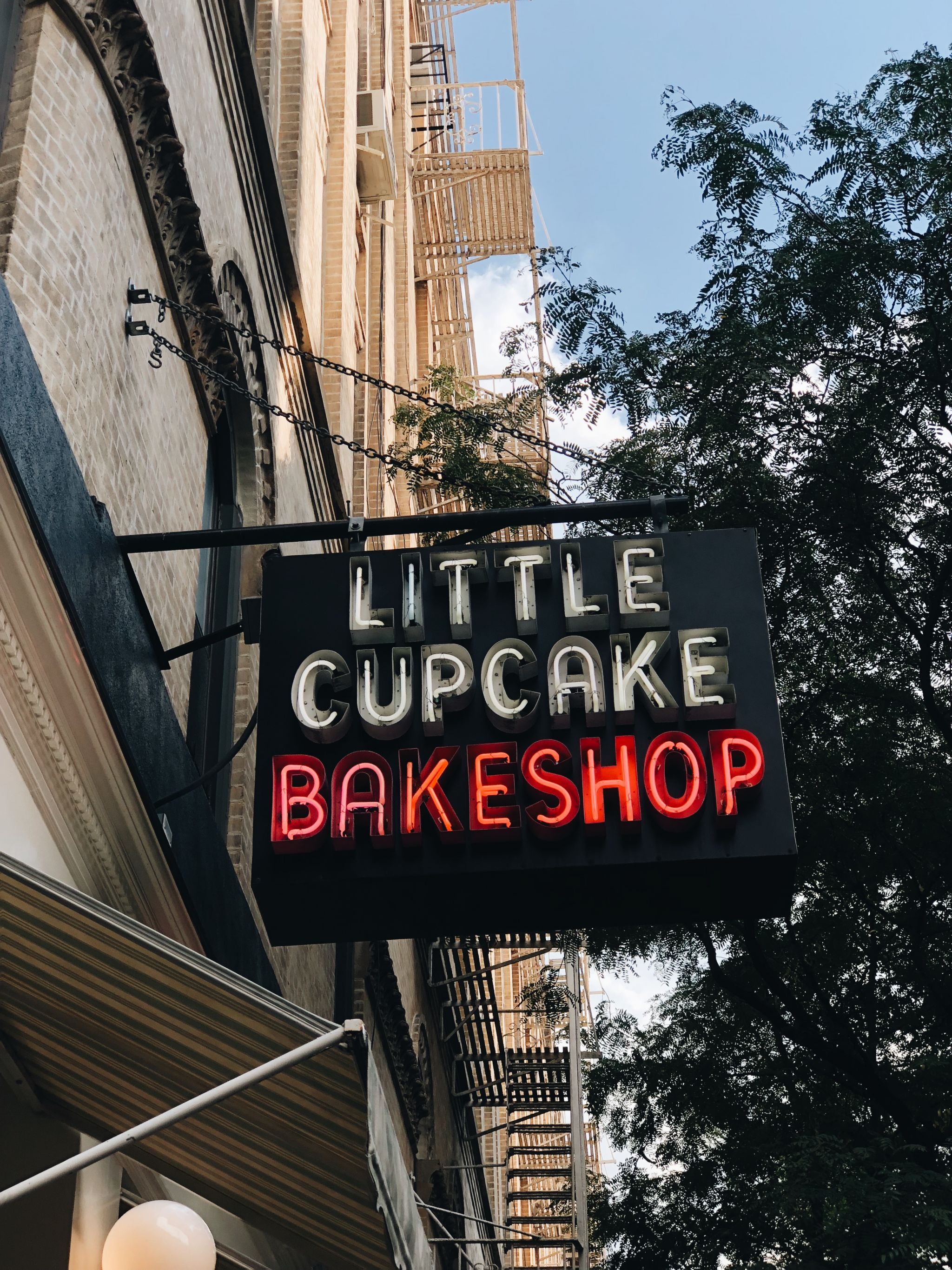 most instagrammable spots in SoHo NYC - little cupcake bakeshop