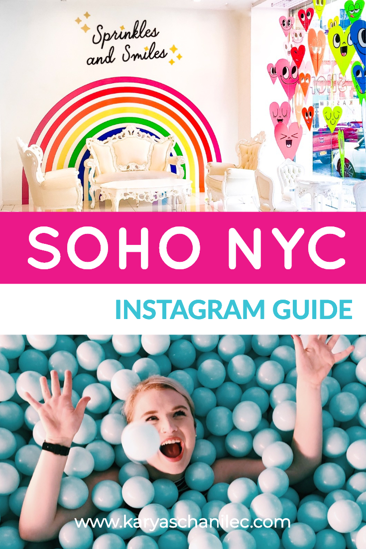 Most instagrammable spots in SoHo NYC