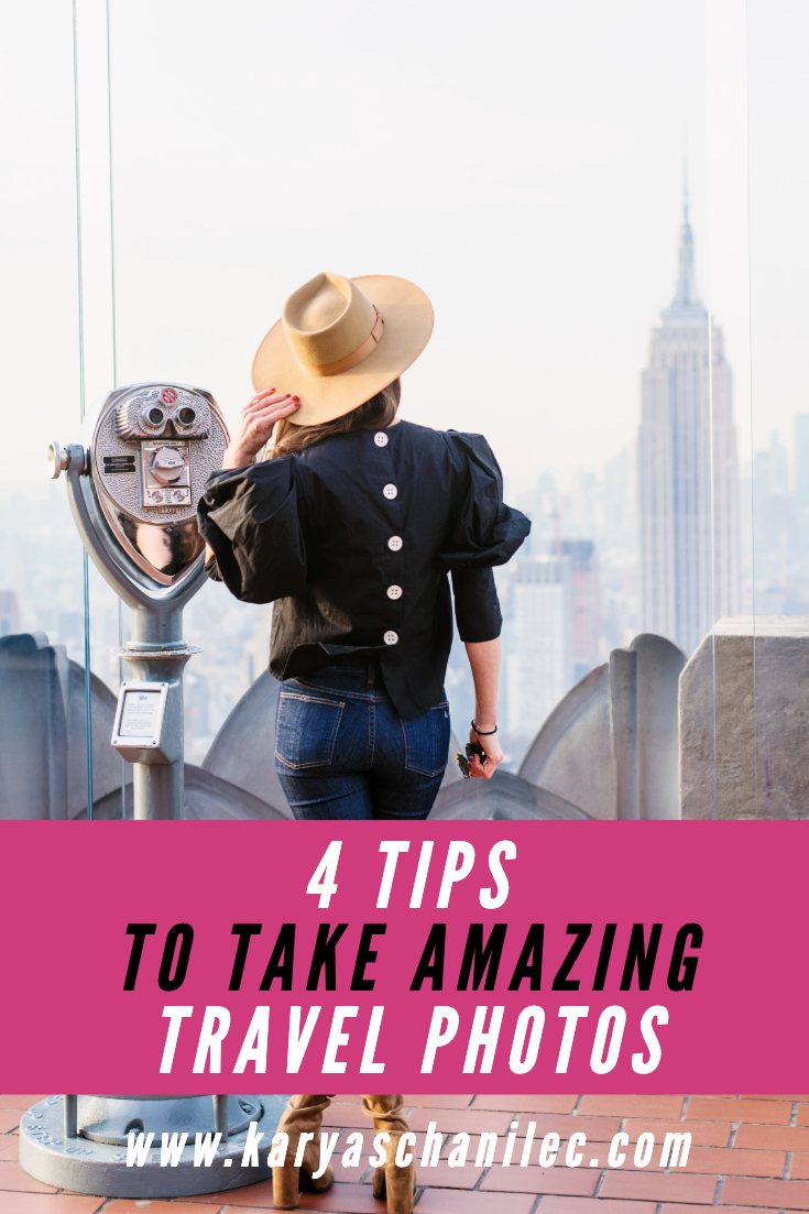 How to Take Amazing Travel Photos Top of the Rock Empire State Building