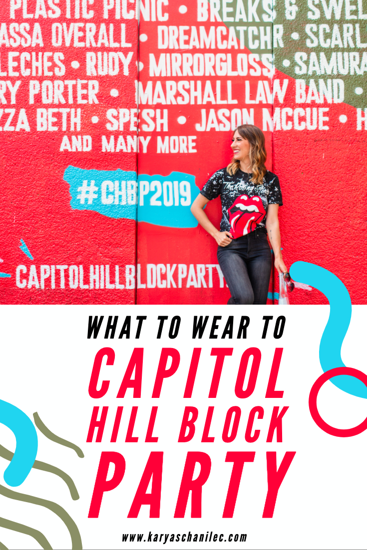 What to wear to Capitol Hill Block Party