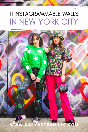 Instagrammable Walls in NYC - Karya Schanilec Photography photoshoot locations in New York City