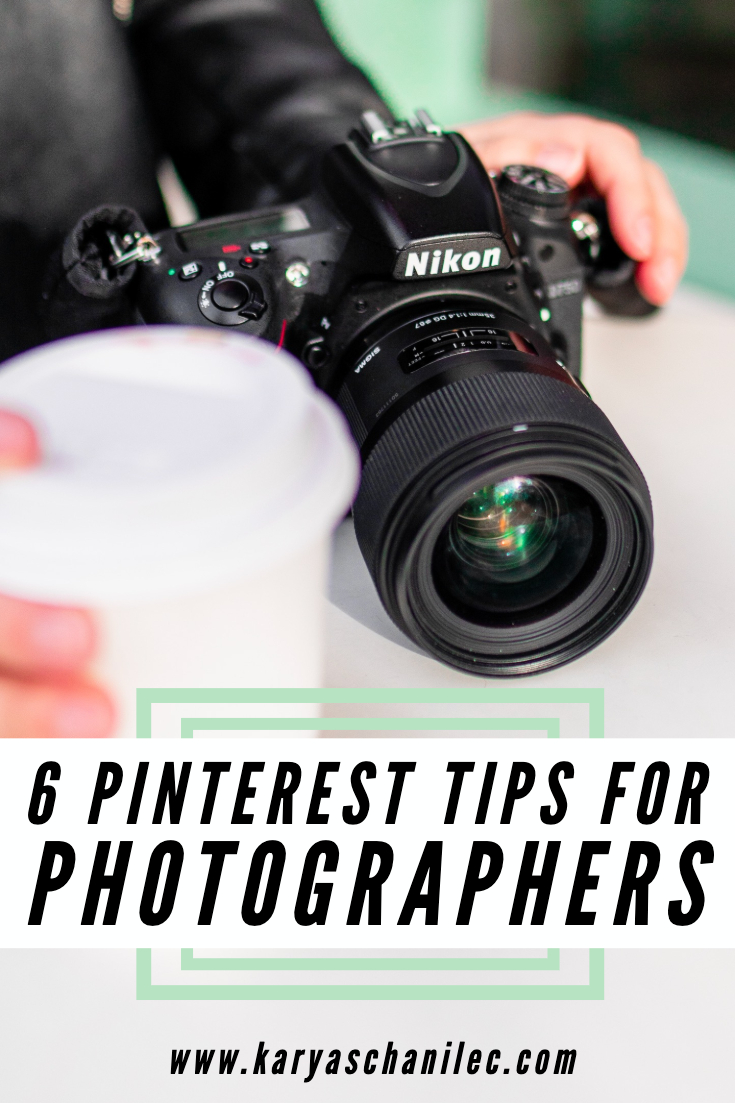 Pinterest Tips for Photographers
