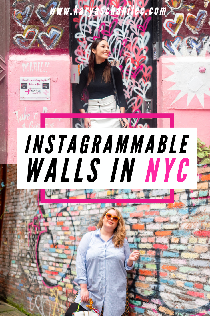 Instagrammable Walls in NYC