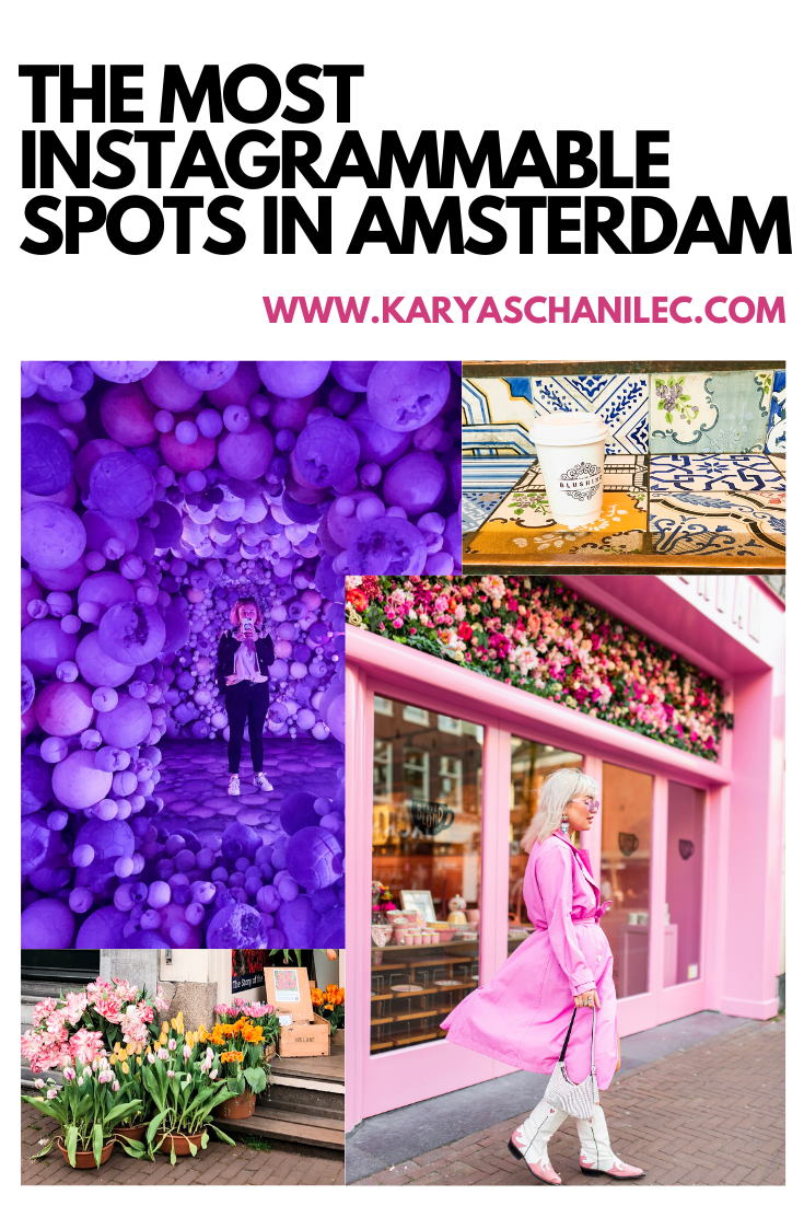 Instagrammable Places in Amsterdam