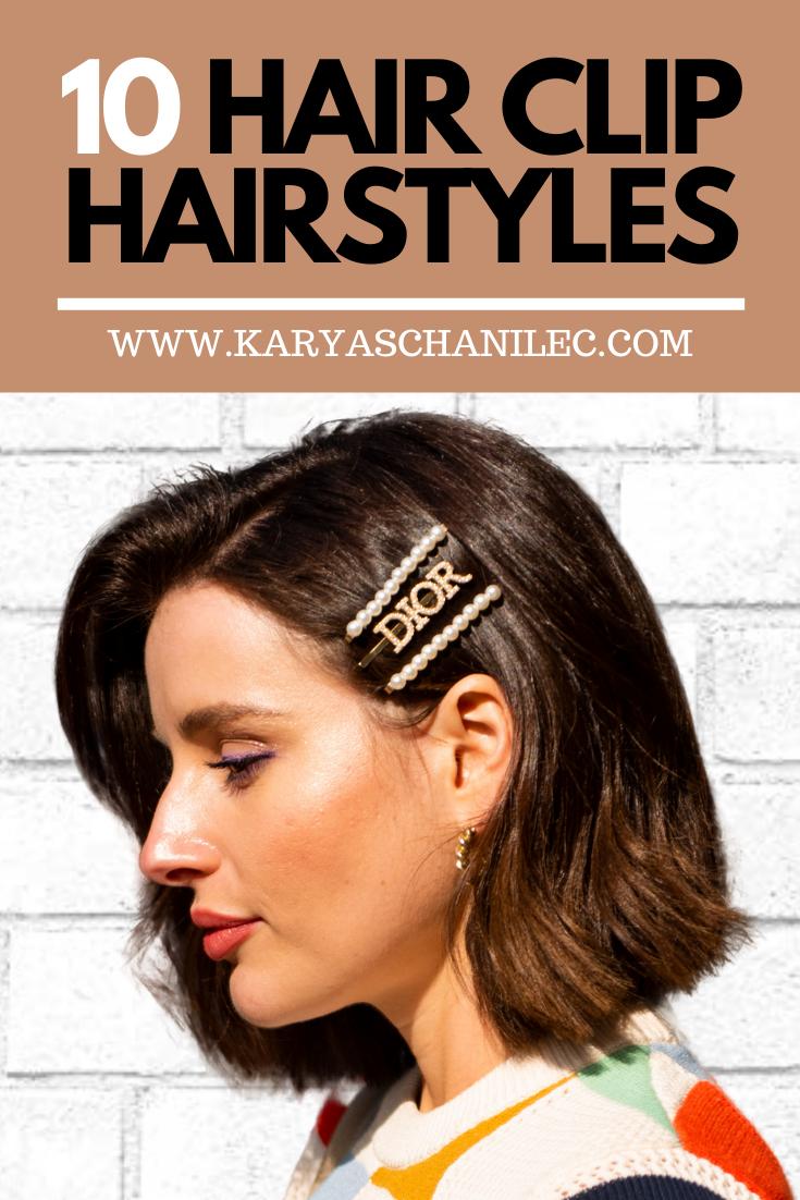 Hair Clip Hairstyles