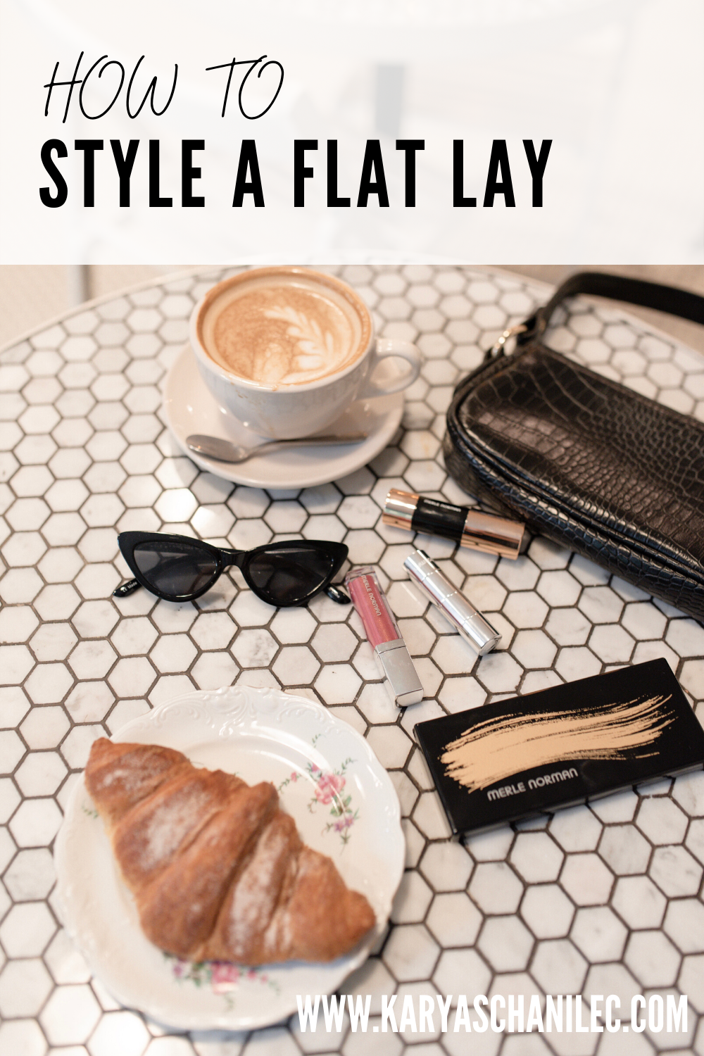 How to style and shoot flat lays