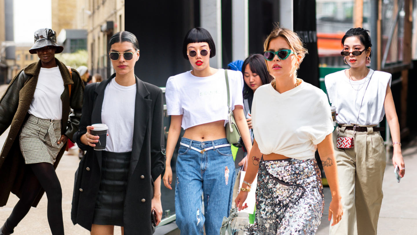10 White T-Shirt Outfits to Copy from Street Style
