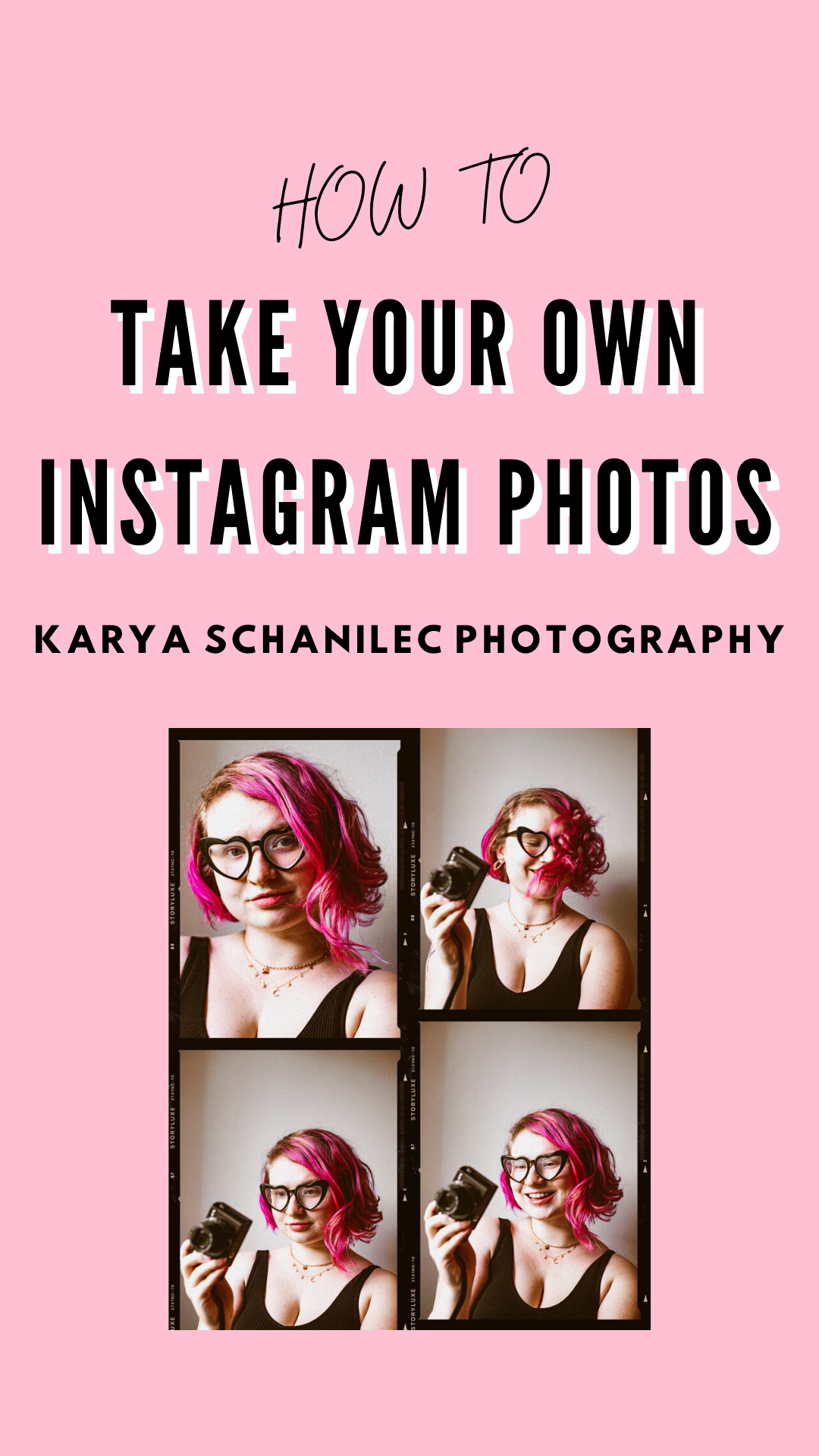 How to take your own Instagram photos