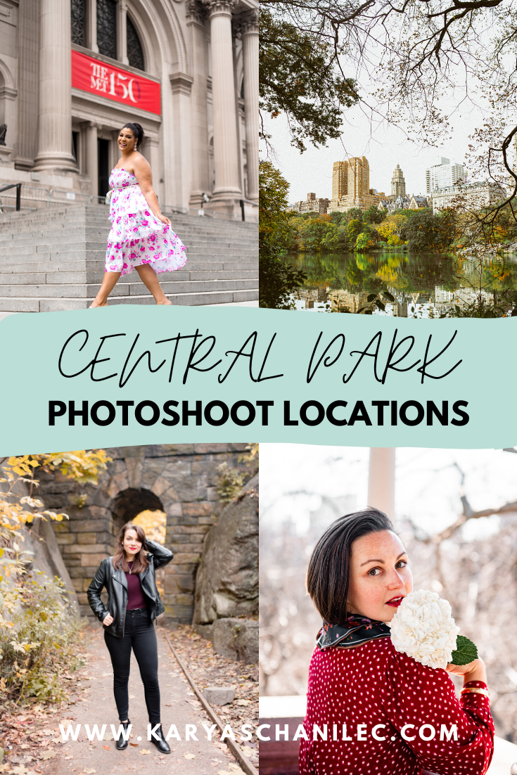 Central Park Photoshoot Locations