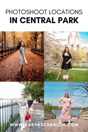 Central Park photoshoot locations, NYC photography tips - Karya Schanilec Photography