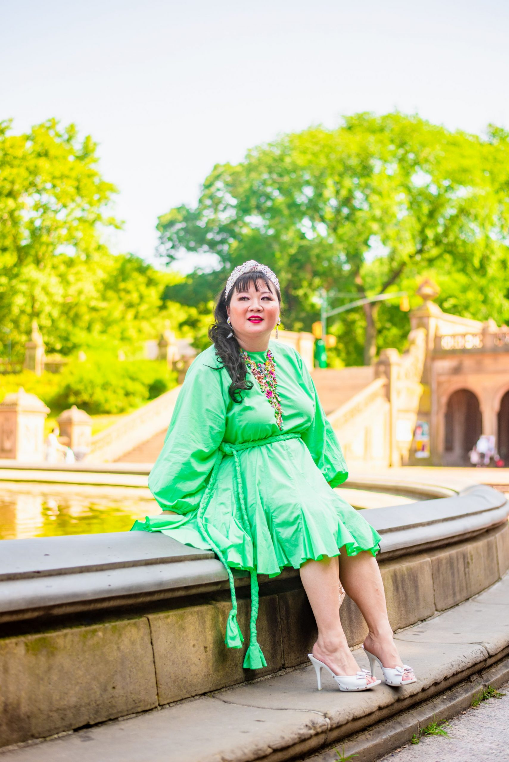 Bethesda Fountain Central Park photoshoot location