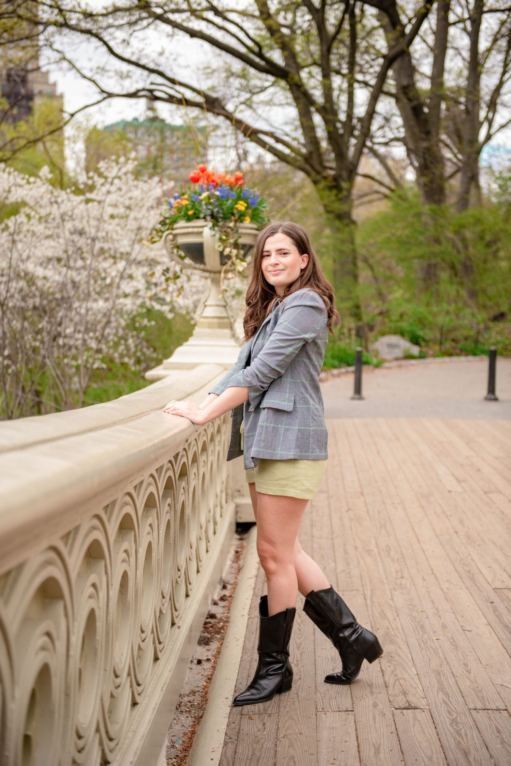 Bow Bridge photoshoot location in Central Park