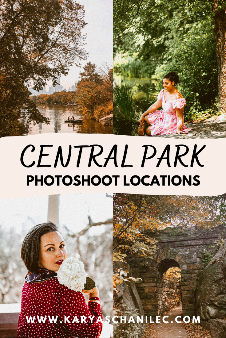 Central Park Photoshoot Locations NYC