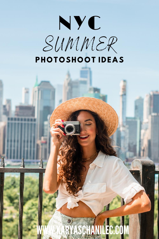 NYC Summer Photoshoot Ideas