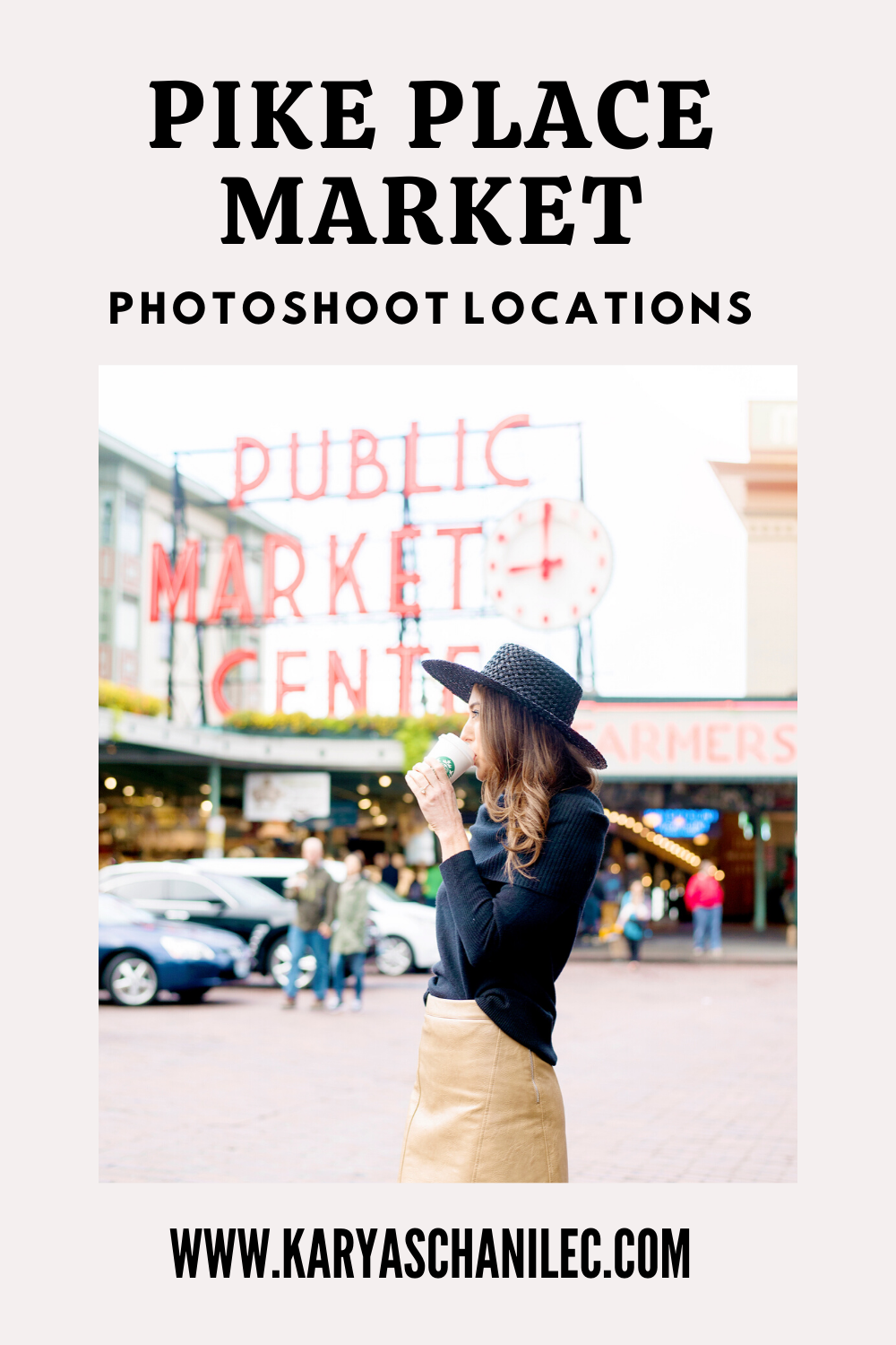 Pike Place Market Photoshoot LOCATIONS