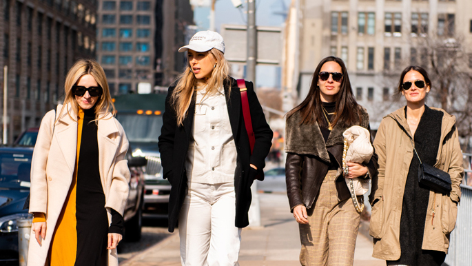 Fall Outfits from 2020 NYFW Street Style