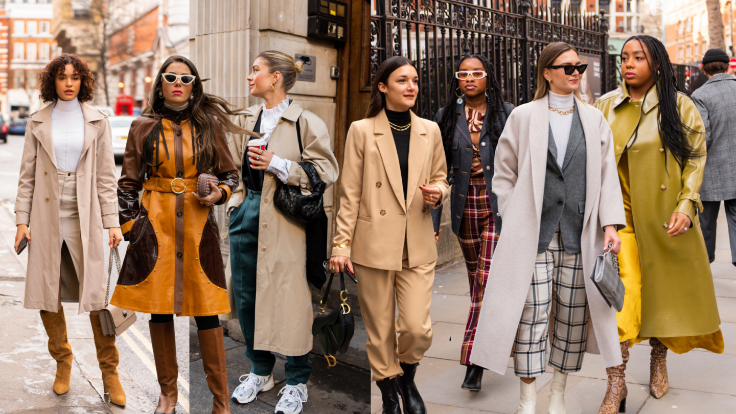 Fall Outfit Ideas from London Fashion Week