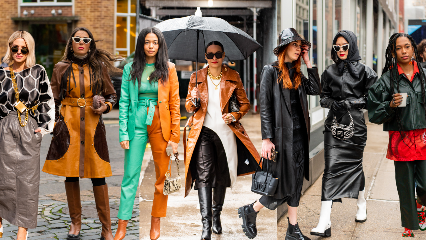 All Leather Outfit Ideas to Copy