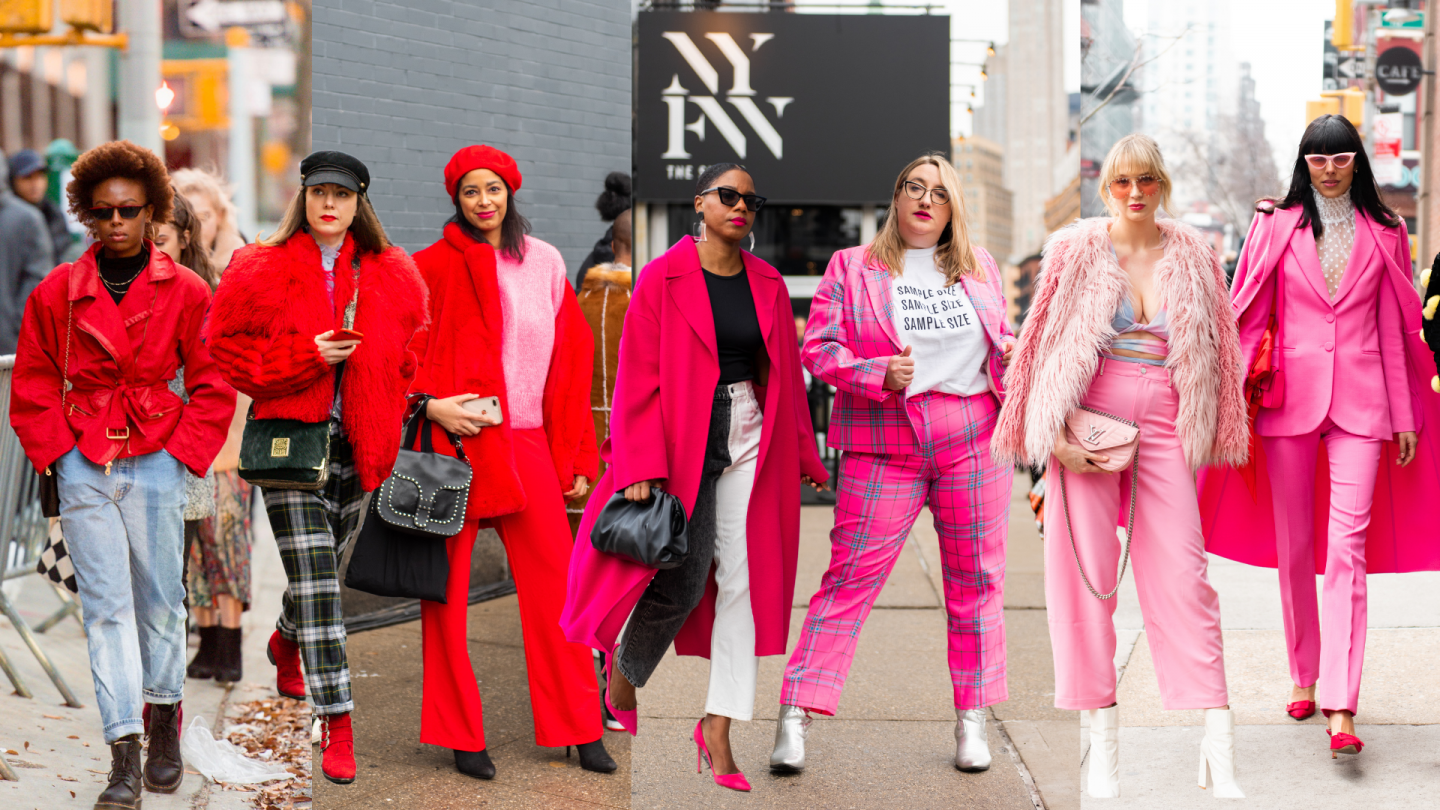 Valentine's Day Outfit Ideas from Fashion Week Street Style