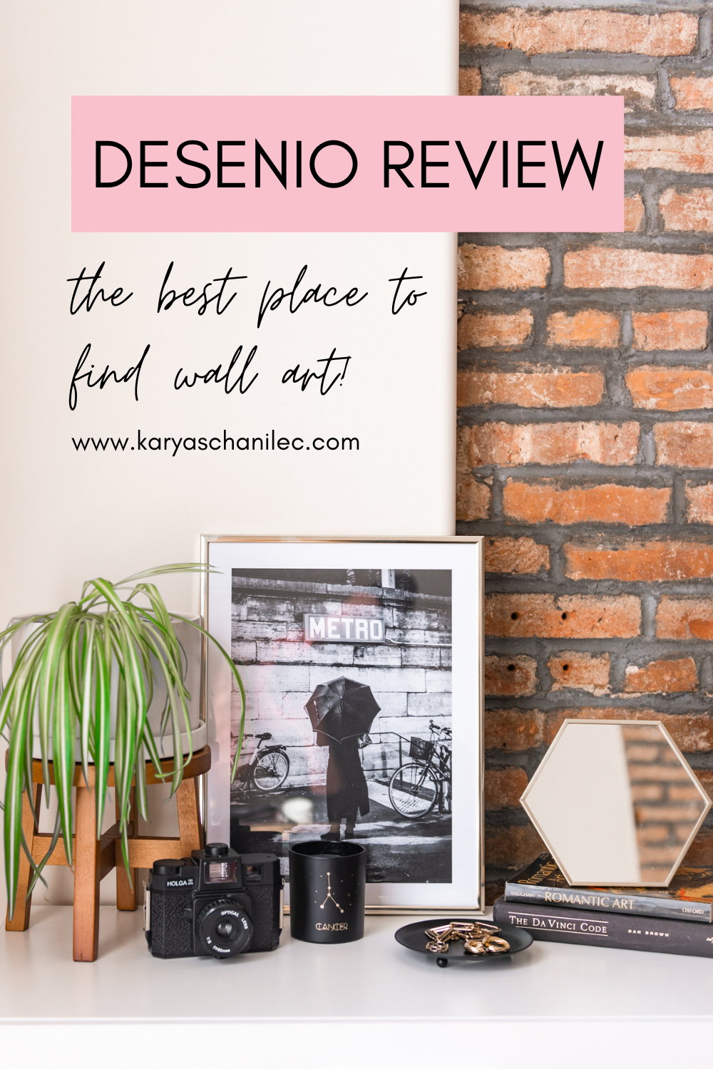 Desenio Review - the best place to find high quality wall art - Karya Schanilec Photography