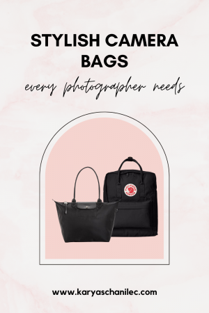 My favorite camera bags for photographers - Karya Schanilec Photography tips and products