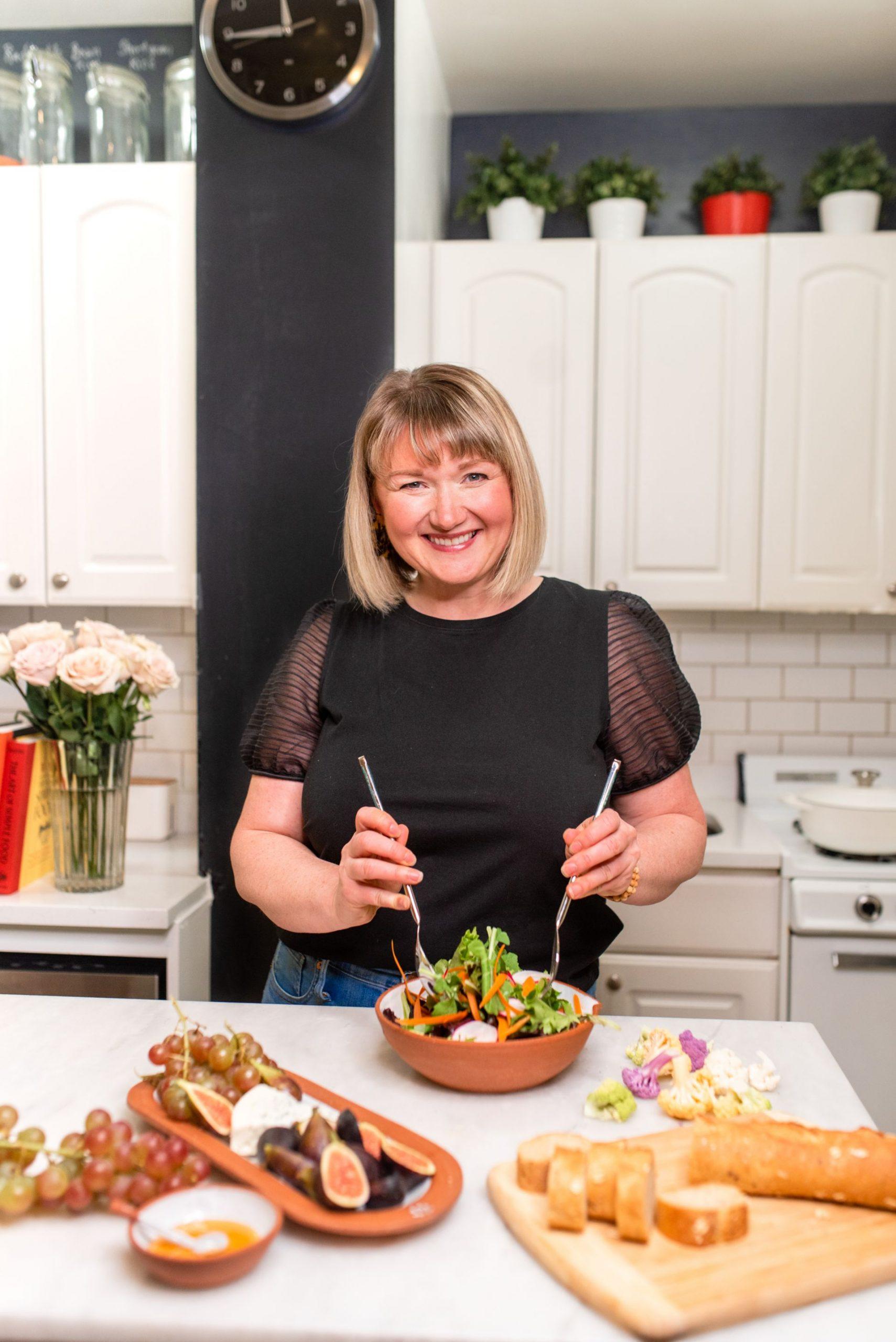 Indoor food blogger branding photoshoot inspiration - Karya Schanilec Photography