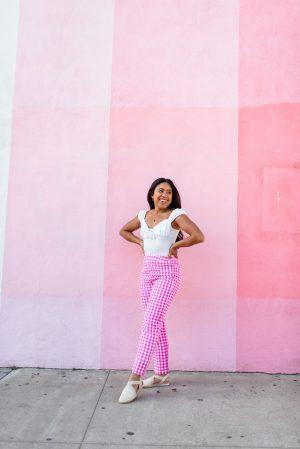 Pink San Diego photoshoot locations - Pigment boutique San Diego - Karya Schanilec Photography