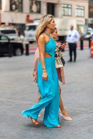 Cass DiMicco at Pat Bo New York Fashion Week street fashion outfits - Karya Schanilec Photography NYC fashion photographer