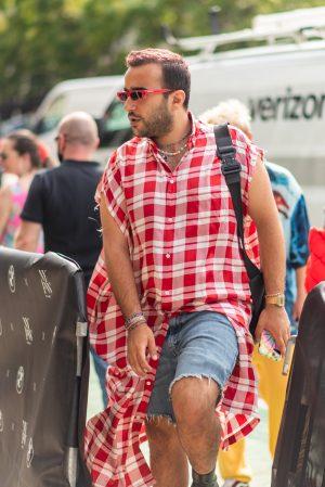 Men's street style at Duncan New York Fashion Week street fashion inspiration - Karya Schanilec Photography NYC fashion photographer