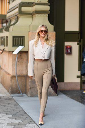 Elsa Hosch Dundas x Revolve New York Fashion Week street style - Karya Schanilec Photography NYC fashion photographer