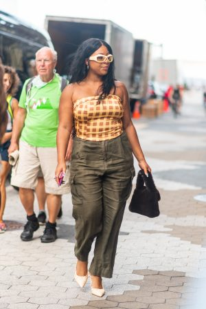 Dundas x Revolve New York Fashion Week street style - Karya Schanilec Photography NYC fashion photographer