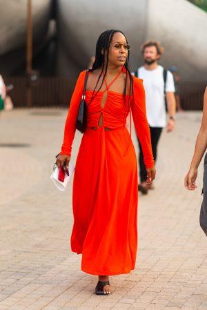 Proenza Schouler NYFW street style - Karya Schanilec Photography NYC fashion photographer