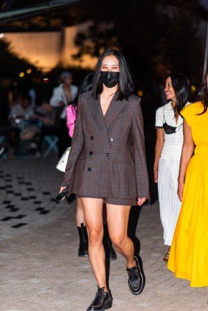 Eva Chen at Proenza Schouler NYFW street style - Karya Schanilec Photography NYC fashion photographer