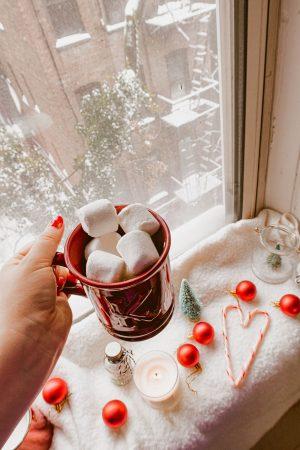 Christmas flatlay photography - Warm and cozy Lightroom preset for Christmas, winter holidays Lightroom preset bundle - KaryaPresets