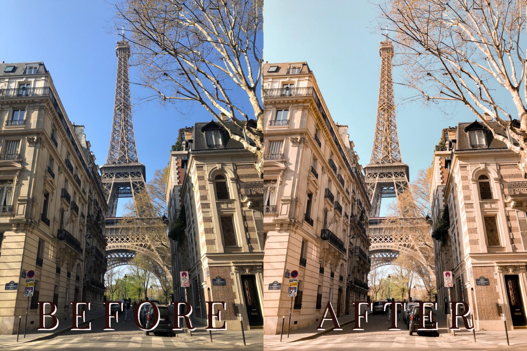 travel film vibes lightroom preset